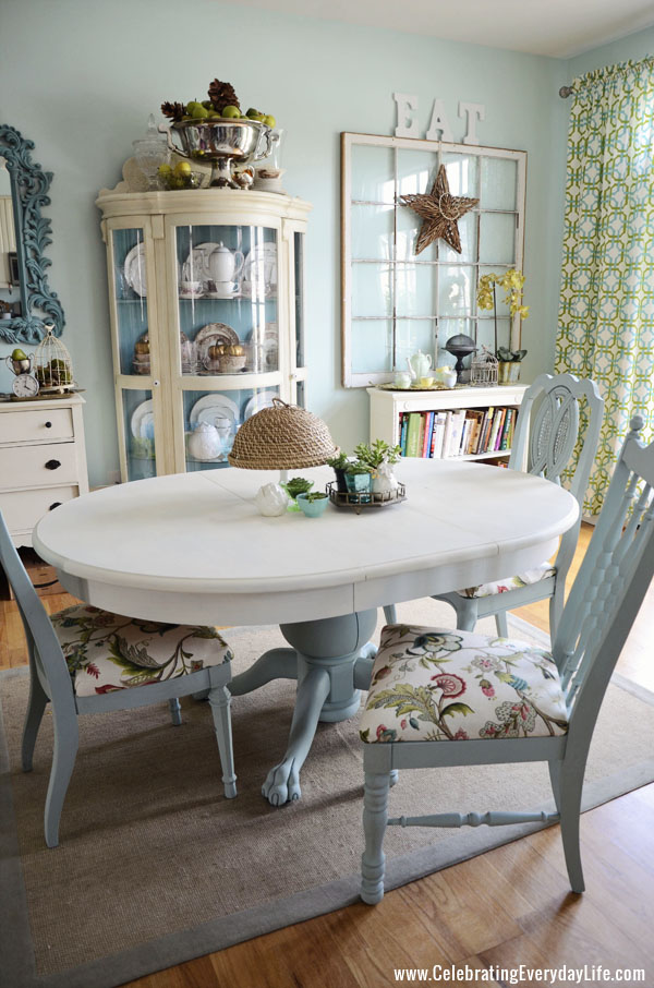 25 dreamy blue paint color choices pretty handy girl for Duck egg dining room ideas