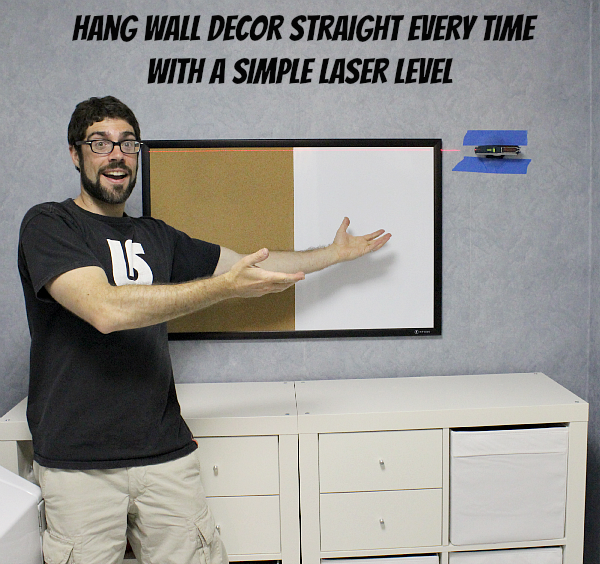 Hang Wall Decor Straight Every Time With A Simple Laser Level
