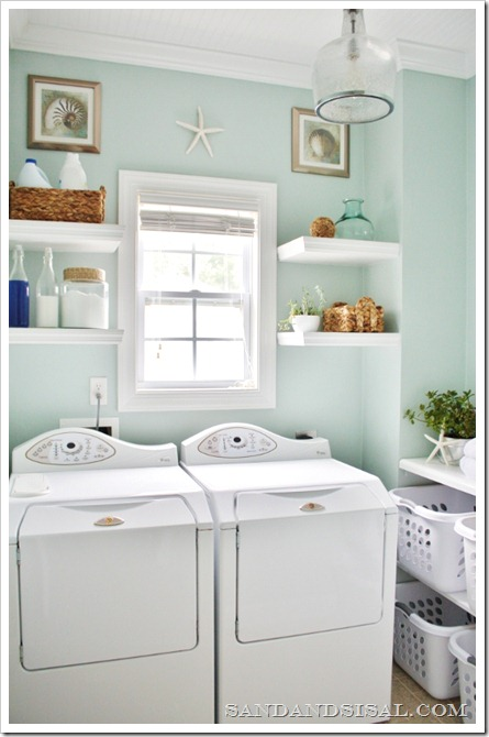 25 Dreamy Blue Paint Color Choices on tidewater cottage