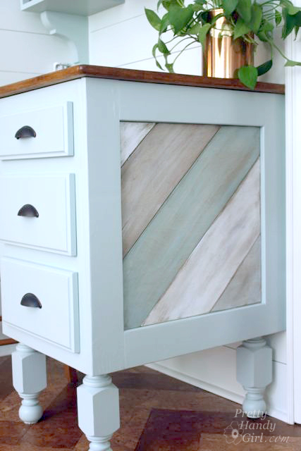 DIY Painted and Distressed Wood Panels Tutorial