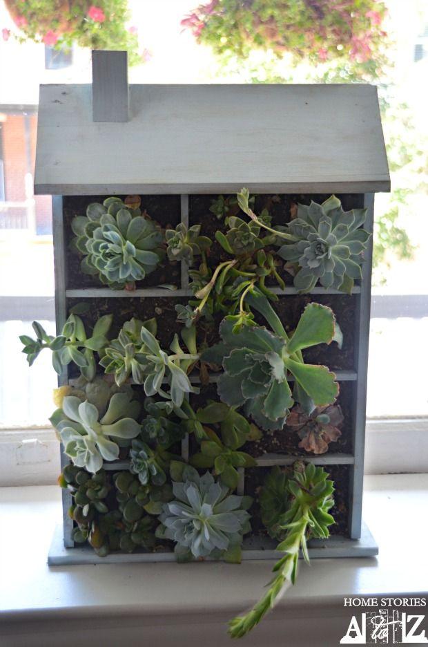 House Shaped Planter