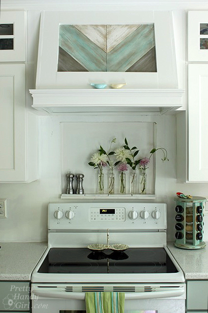How to Build a Custom Wood Range Hood by Pretty Handy Girl