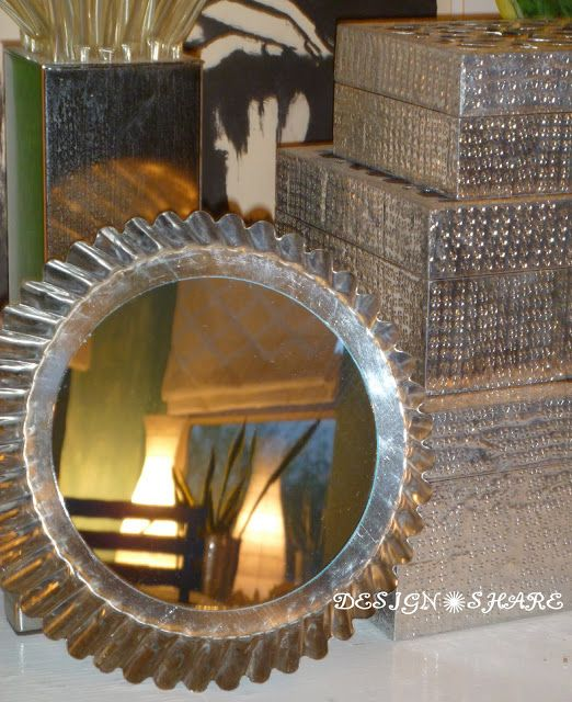 Angel Food Cake Pan Mirror | 30 Amazing DIY Mirrors