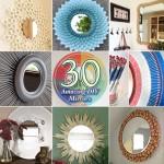 30 Amazing DIY Decorative Mirrors