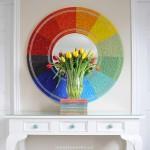 Color Wheel Mirror