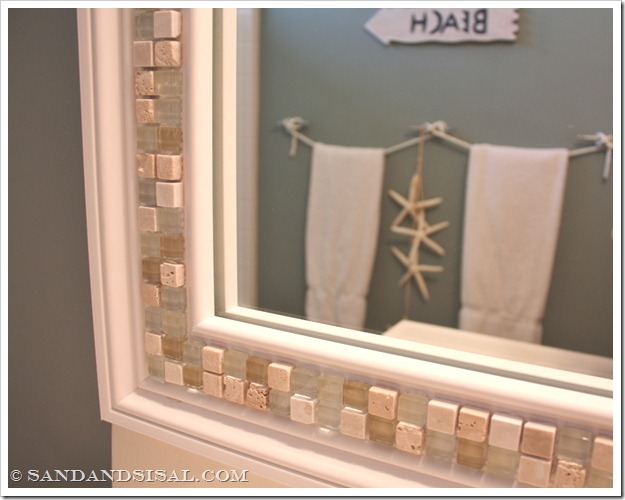 mosaic tile mirror 30 amazing diy mirrors - Decorate Mirror Frame