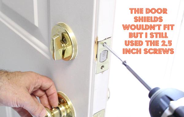 Door Shield Modification