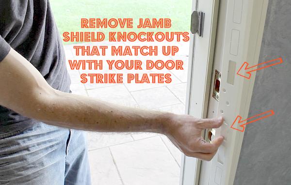 Jamb Shield Knockouts