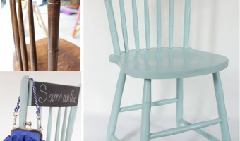 The Painted Chairs – a Second Chance Makeover