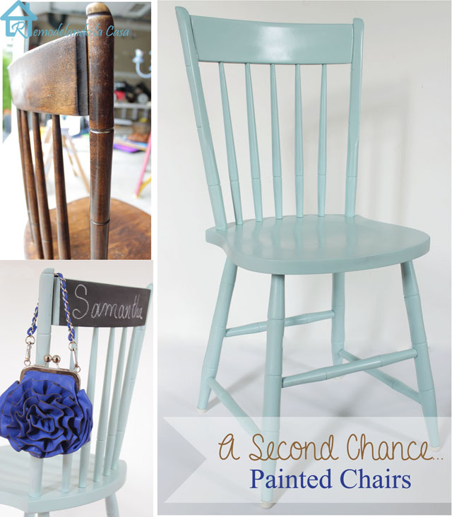 Kitchen Table And Chairs Makeover: A Second Chance Makeover