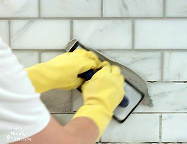How To Tile A Backsplash Part 2 Grouting And Sealing A Backsplash