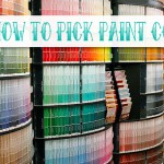 How to Pick Paint Colors with Lindsay {via Glidden Show Me How Video}