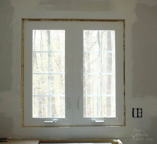 How To Install Trim And Casing Moulding On A Casement