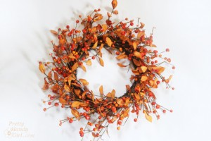Easiest Fall Wreath EVER!