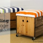 How to Build a Rolling Storage Seat