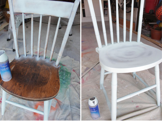 Painting chairs a second chance makeover pretty handy girl
