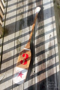 Creating Vintage Painted Oars with 3M