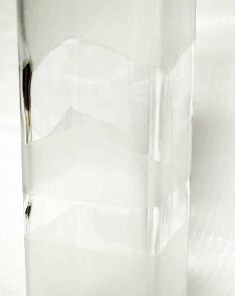 Faux Etched Soap Dispenser