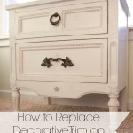 How to Replace Decorative Trim on Furniture