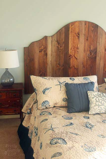 Fabulous How to Create a Rustic Wood Headboard for Pretty Handy Girl