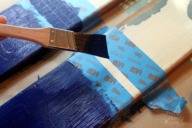 How to Make Vintage Painted Oars   Pretty Handy Girl