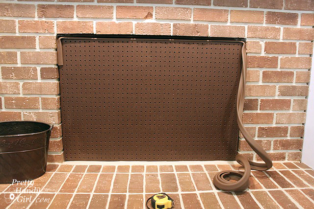 Build A Fireplace Insert Draft Stopper A Lowe 39 S Creator Idea Pretty Handy Girl