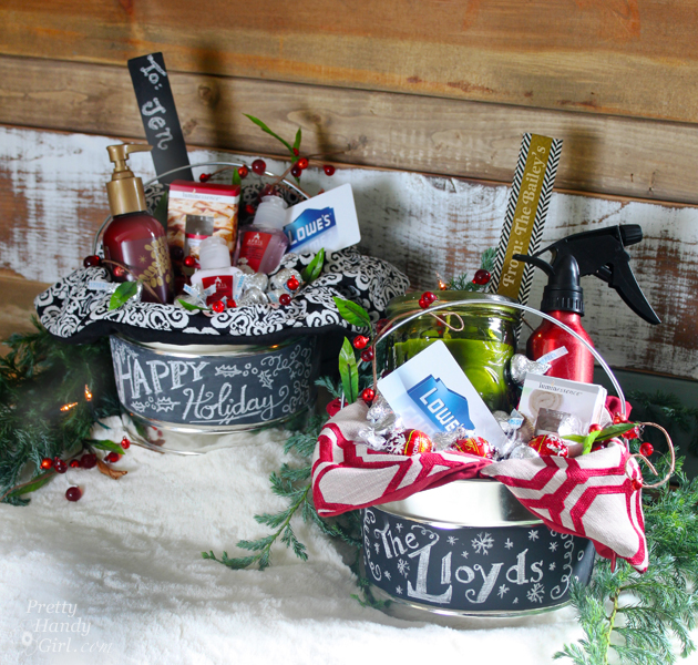 Hostess gifts in a paint can lowe 39 s creative idea for Holiday party gift ideas for the hostess