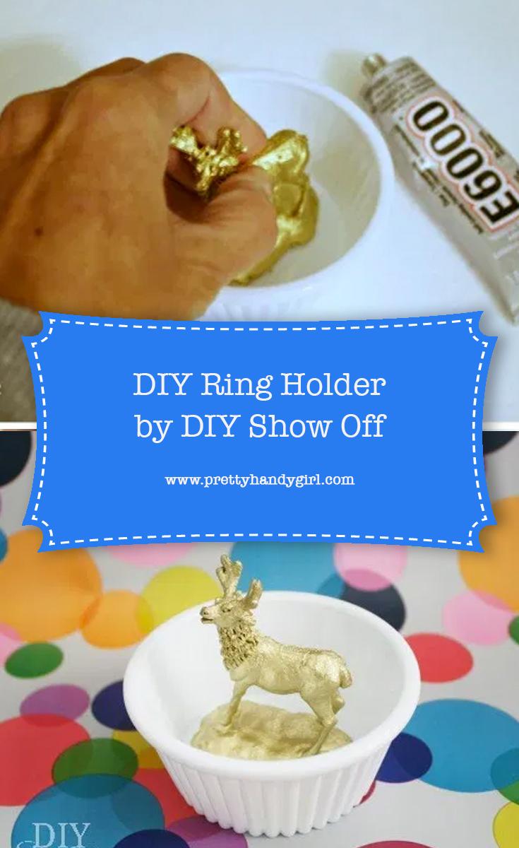 DIY Ring Holder | Pretty Handy Girl