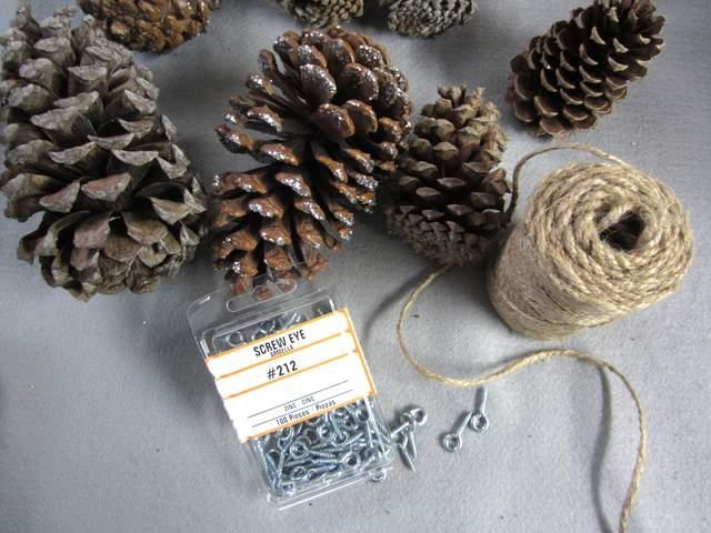 Pine Cone Garland