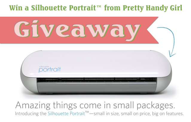 Silhouette Portrait Giveaway | Pretty Handy Girl