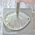 DIY Stamped Spoon Necklace from Thistlewood Farms