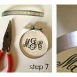 How to: Hand Painted Monogrammed Ornaments