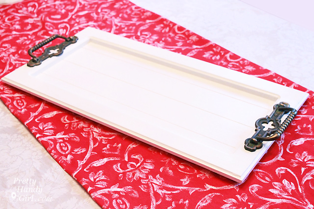 Make a Tray from a Cabinet Door | Pretty Handy Girl  sc 1 st  Pretty Handy Girl & Make a Tray from a Cabinet Door - Pretty Handy Girl