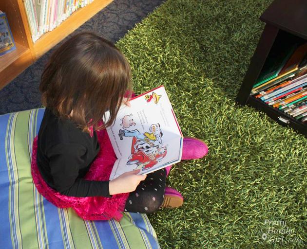 School Library Reveal | Pretty Handy Girl