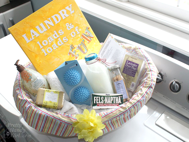 Laundry Fun Gift Basket | Pretty Handy Girl