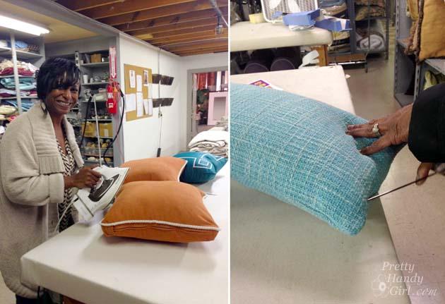 pillow-prepping