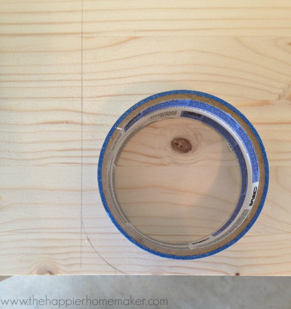 rounding corners cutting board