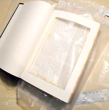 DIY Book with Storage Inside   Pretty Handy Girl