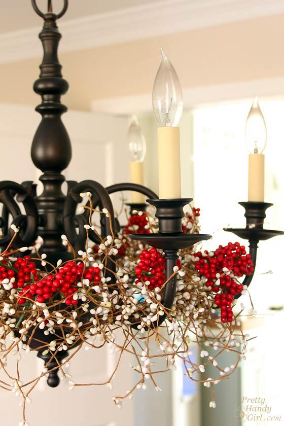 Pretty handy girl 39 s christmas home tour 2013 pretty for Simple christmas light decoration ideas