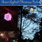 How to Make Giant Lighted Ornament Balls