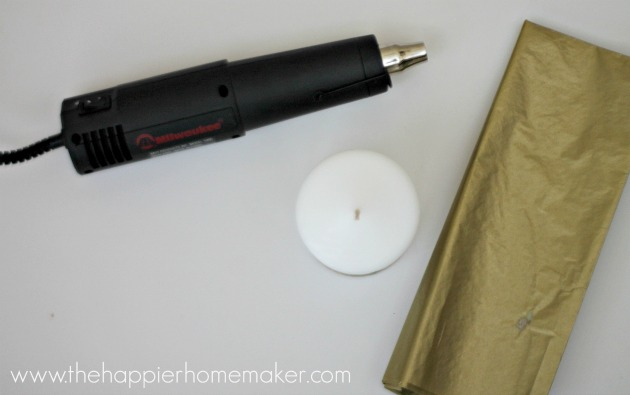supplies custom candle decorating