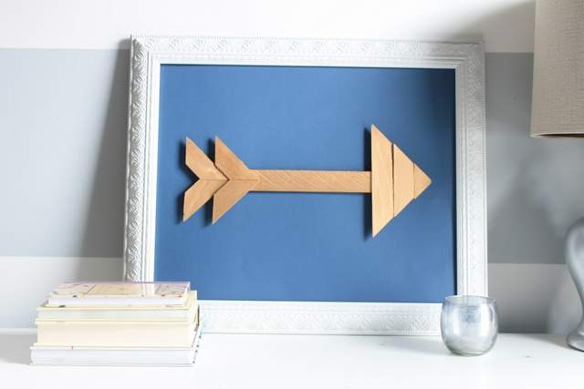 DIY Wood Shim Arrow