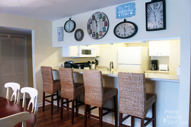 Outstanding Topsail Beach Condo Renovation Pretty Handy Girl Largest Home Design Picture Inspirations Pitcheantrous