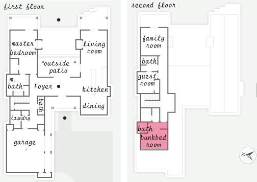 Bunkbed Room HGTV Dream Home