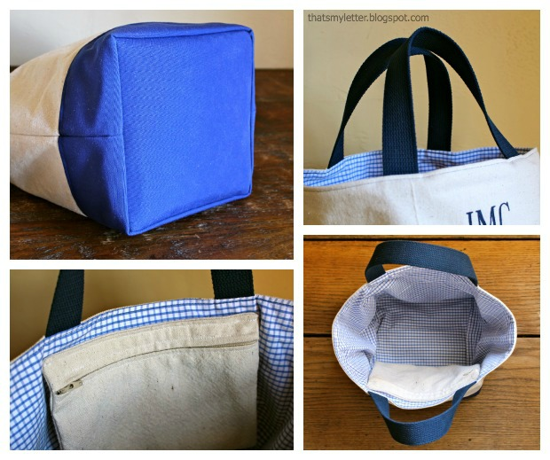 How to Sew a Custom Canvas Tote