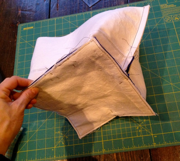 canvas tote construction