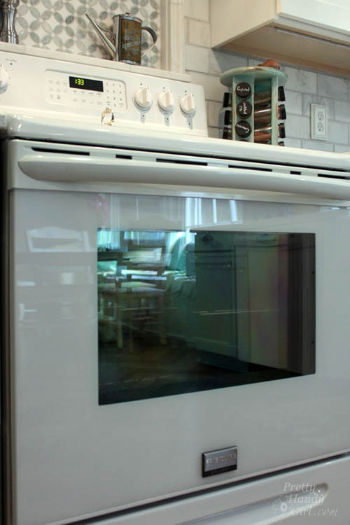 How To Clean Inside Your Oven Door Pretty Handy Girl
