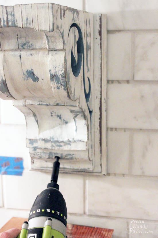 How to Install Shelves on a Tile Wall
