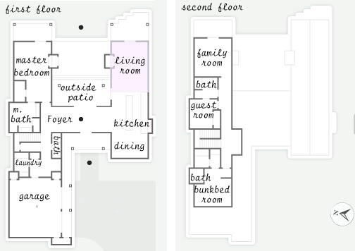 Living Room HGTV Dream Home