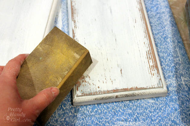 Diy Aged Chippy Paint Technique Pretty Handy Girl